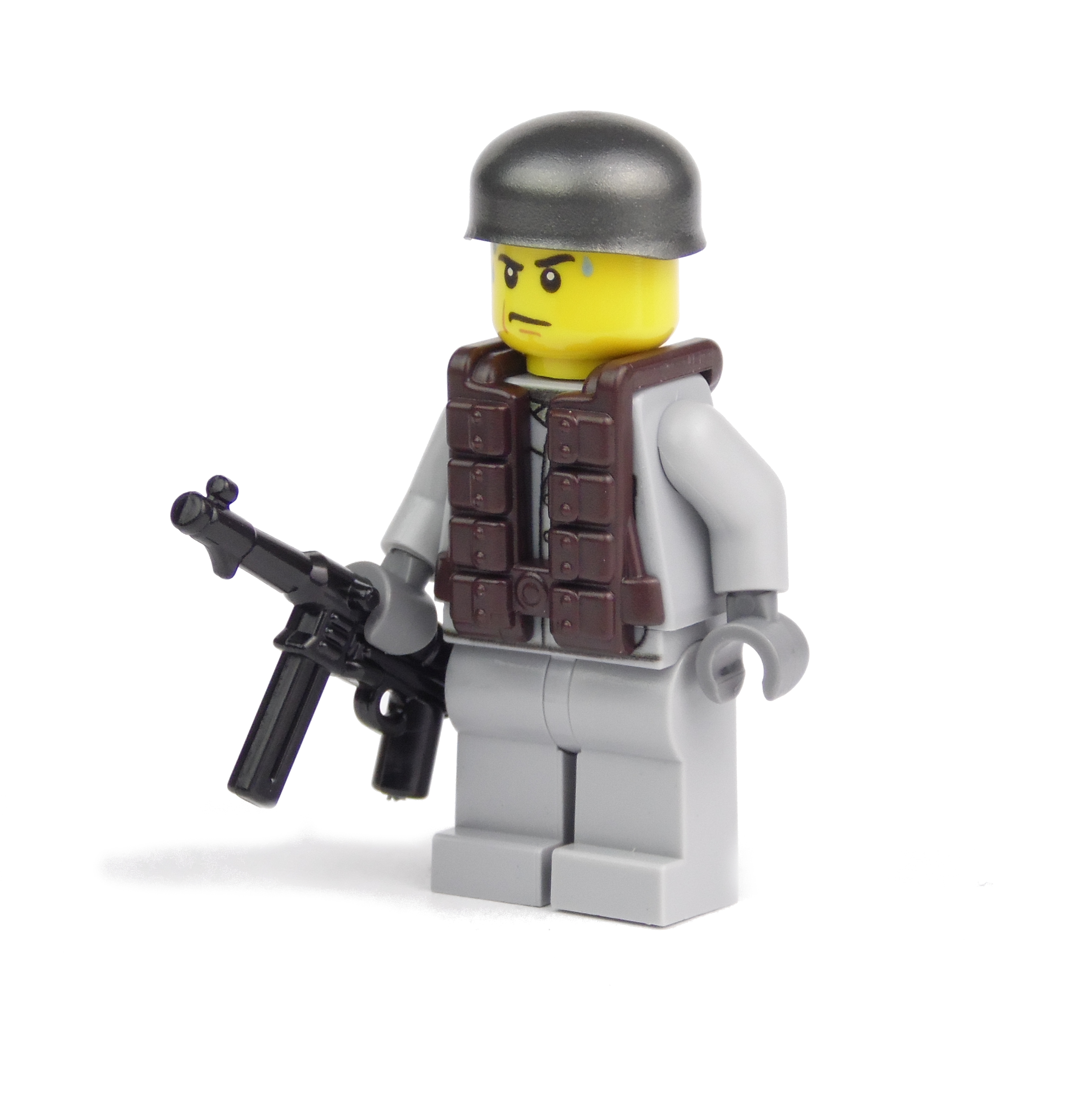 German Paratrooper with BrickArms MP40 and Vest