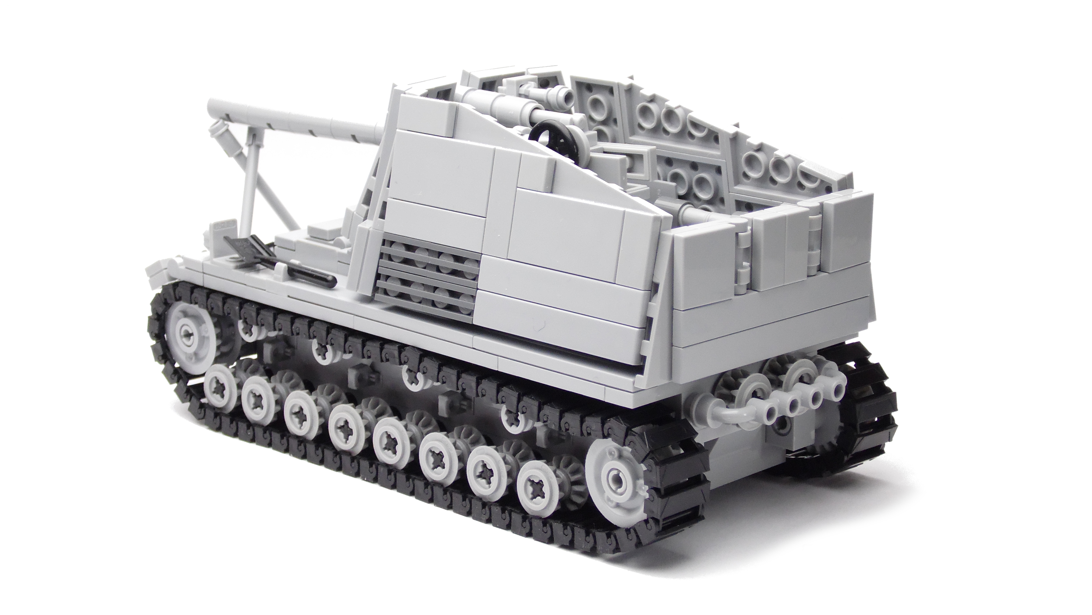 Bauplan Panzerhaubitze IV Hummel Modellbauplan