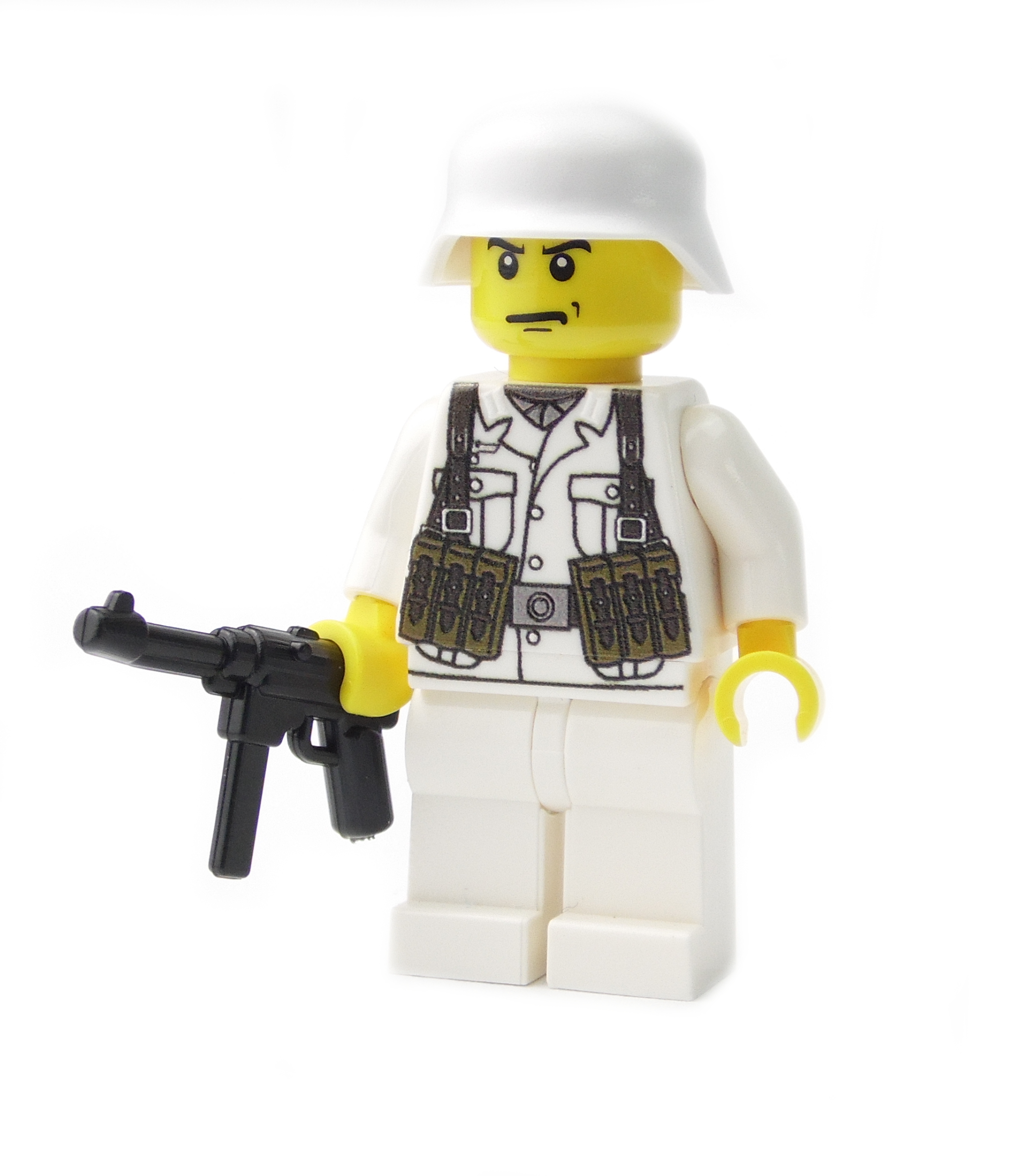 German Winter Soldier with MP40